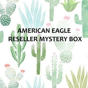 AEO American Eagle Mystery Reseller Bundle Box 4pc